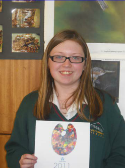 Alisha Kirwan - National winner of Credit Union Poster Competition 2012