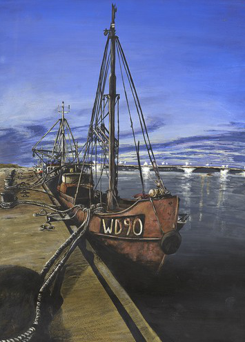 Janne Srtydom - Wexford Harbour - Cat A - 3rd prize