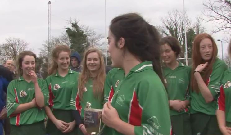 GCS All Ireland Camogie Win